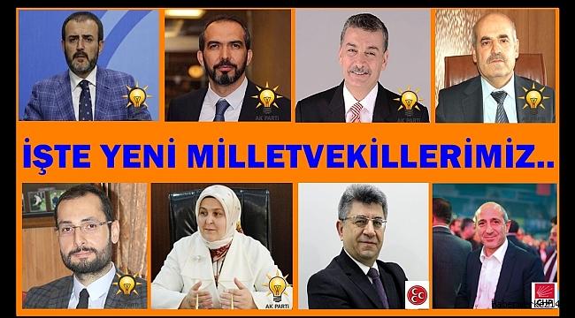 İŞTE YENİ MİLLETVEKİLLERİMİZ..