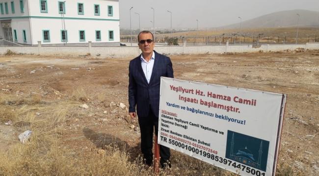 HZ. HAMZA CAMİ'SİNE İLK ADIM