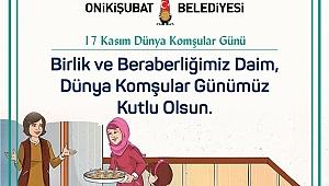 """""""KOMŞULUK KÜLTÜRÜNÜ AYAKTA TUTALIM"""""""