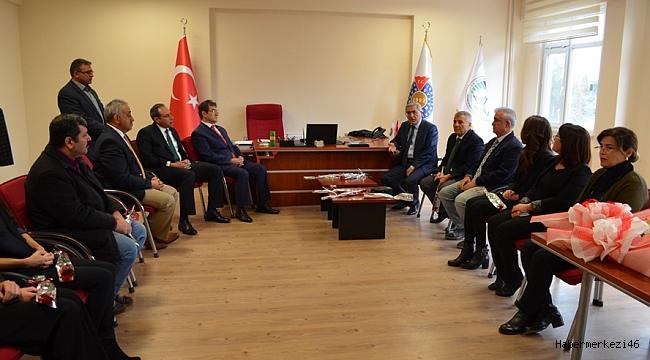 PAZARCIK MYO'NUN YENİ MÜDÜRÜ FETİH YANARDAĞ..