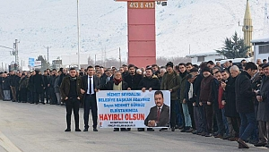 ELBİSTAN, GÜRBÜZ'Ü BAĞRINA BASTI!