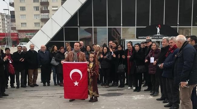 KÜLTÜR KÖPRÜSÜ PLATFORMU ÜYELERİ PANORAMA MÜZESİNDE