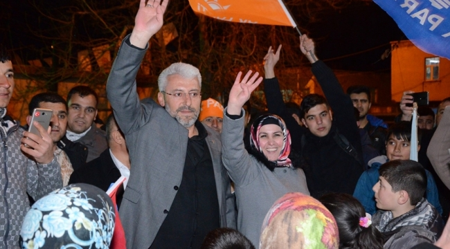 Ekinözü'nde Cumhur İttifakı'ndan Gövde Gösterisi!