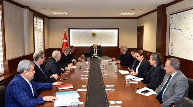 Ekonomi Toplantısı Vali Özkan Başkanlığı'nda Yapıldı