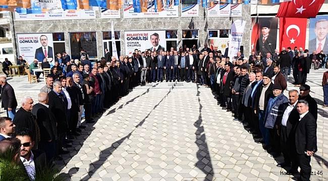 Cumhur İttifakı Türkoğlu'nda Zirve Yapacak..