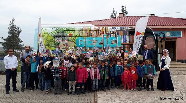 Gezici Halk Kütüphanesi Kadıoğlu Çiftliği'nde