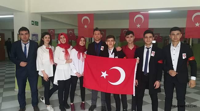 İstiklal Marşı'nın Kabulünün 98. Yıldönümü İçin Bir Program Düzenledi