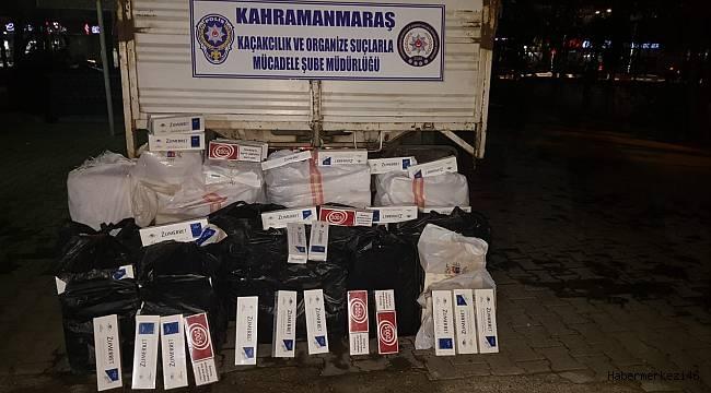 Kamyonette Binlerce Paket Kaçak Sigara Yakalandı