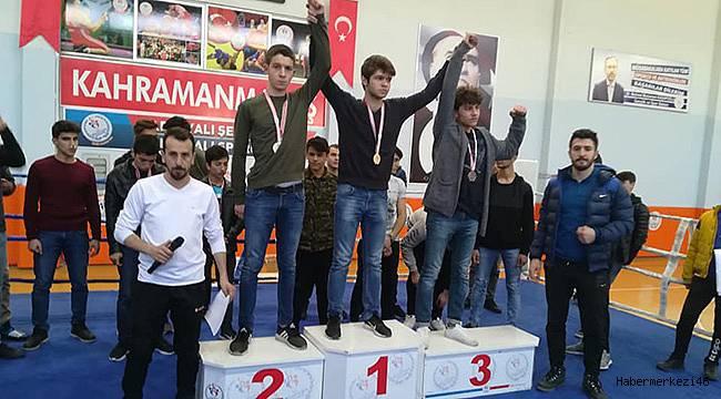 Okul Sporları Boks İl Birinciliği Turnuvası Tamamlandı