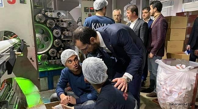 Sezal'dan Türkoğlu'na Ziyaret..