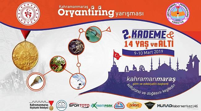 Türkiye'nin En Büyük Oryantiring Şampiyonası Kahramanmaraş'ta
