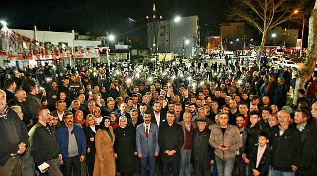 Türkoğlu Tarihi Bir An Yaşadı..