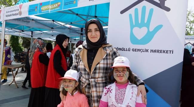 Büyükşehir'den Çocuklara 23 Nisan Eğlencesi