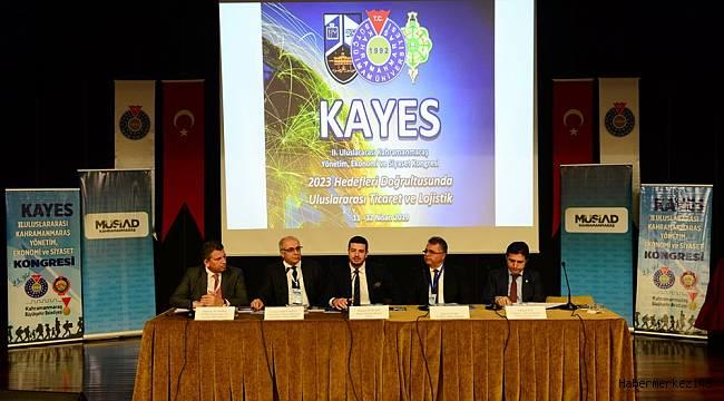 KSÜ'de Uluslararası Ticaret ve Lojistik Konuları Tartışılıyor