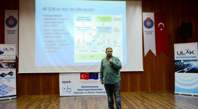 KSÜ İnternet Haftası Etkinlikleri Bilişim Sektöründen Uzman İsimleri Öğrencilerle Buluşturdu
