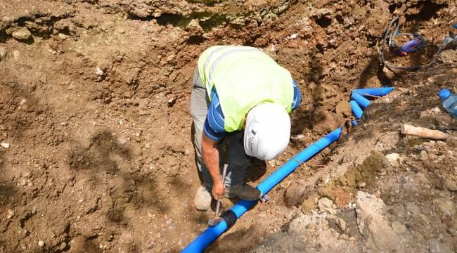 Tekir İçme Suyu Çalışmalarının %70'i Tamamlandı
