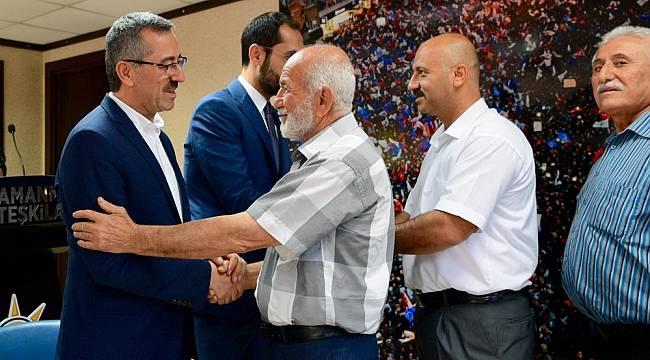 Başkan Güngör AK PARTİ'de Bayramlaştı