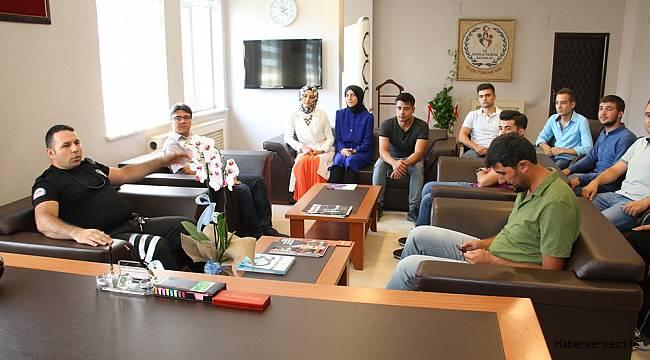 Türkiye Derecesi Yapan Öğrencilerden Kabakcı'ya Ziyaret