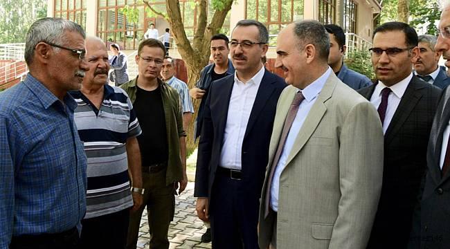 Başkan Güngör' den İlçelere Hizmet Gezisi