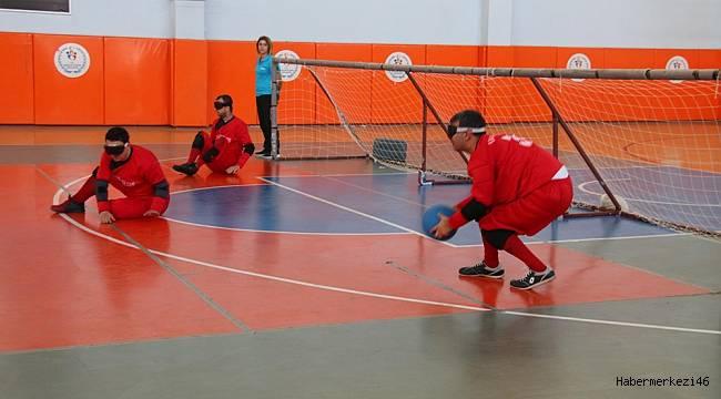Goalball 3. Ve 4. Lig maçları ilimizde yapılıyor