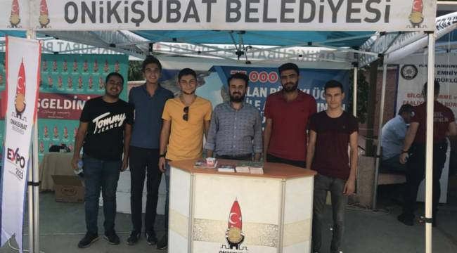 KSÜ'de Onikişubat Belediyesi Standı'na Yoğun İlgi