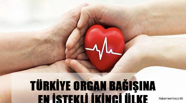 Türkiye Organ Bağışına En İstekli İkinci Ülke