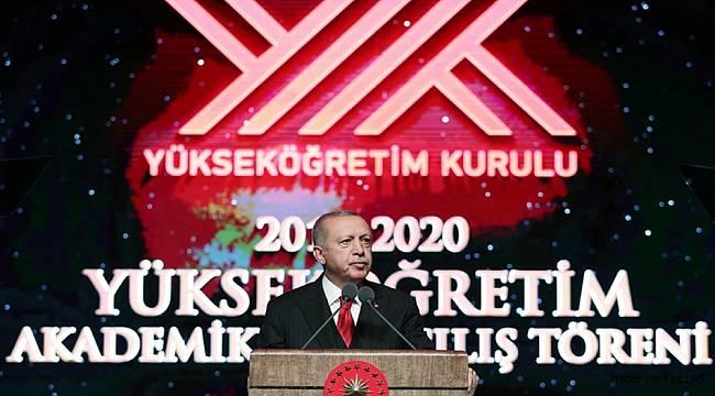 2019-2020 Akademik Yılı Açılış Töreni, Cumhurbaşkanlığı Külliyesinde Gerçekleştirildi
