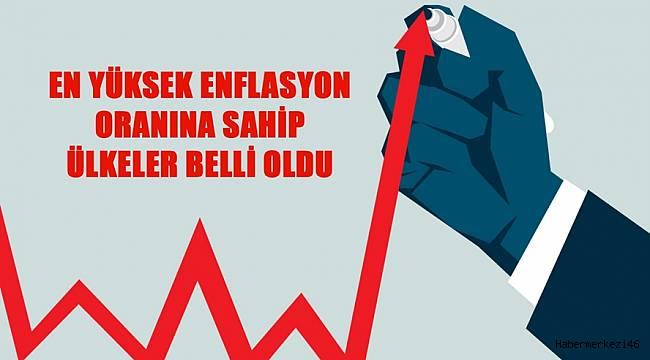 En Yüksek Enflasyon Oranına Sahip Ülkeler Belli Oldu