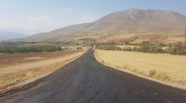Gümüşdöven-Akpınar Grup Yolunda asfalt çalışmaları başladı