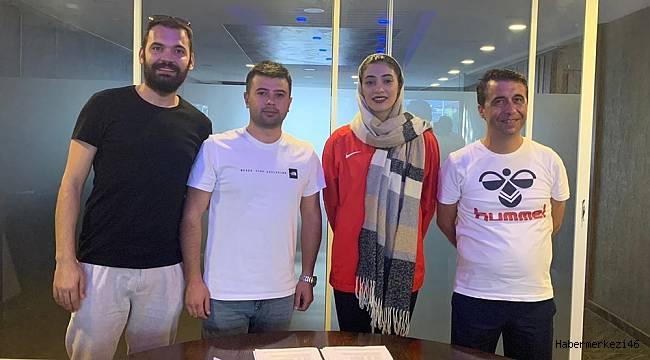 İranlı Voleybolcu Elbistanspor'da