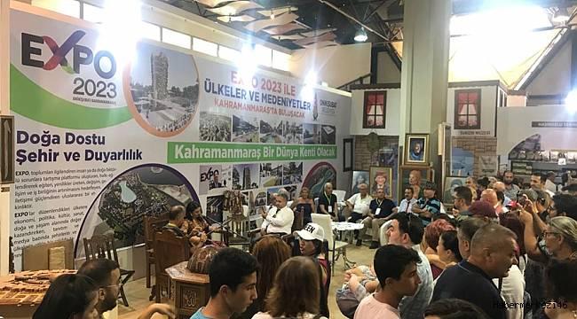 İzmir Fuarı'nda EXPO 2023 Onikişubat'a Yoğun İlgi