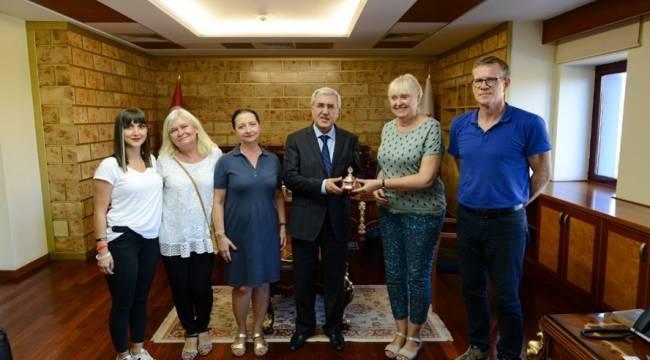 Rektör Can, Polonyalı Akademisyenlerle Bir Araya Geldi