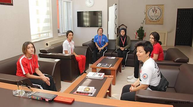 Şampiyon WUSHU Sporcularından Kabakcı'ya Ziyaret