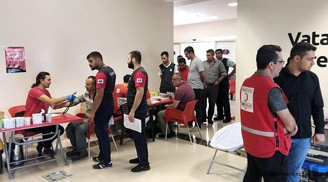 """""""Barış Pınarı Harekâtına Destek Olmak Amacıyla Çalışanlarımızla Birlikte Kan Bağışı Yaptık"""""""