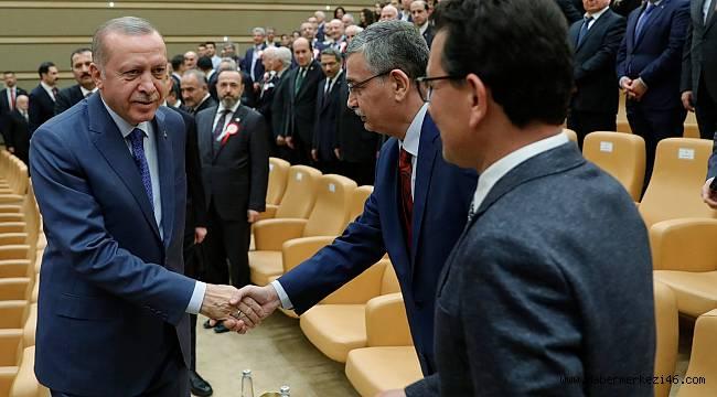 Başkan Erdoğan İle Güvenç Yan Yana..