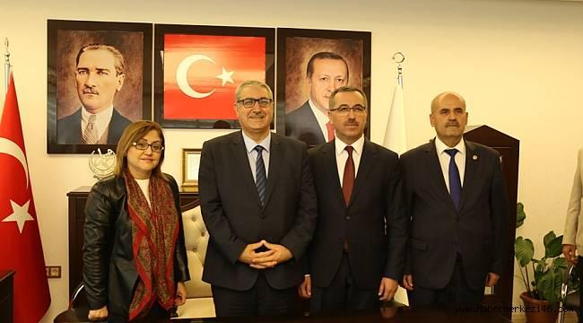 Başkan Şahin ve Göngör'den Pazarcık'a Ziyaret
