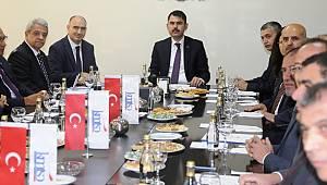 Çevre ve Şehircilik Bakanı Murat Kurum İş Dünyası İle Buluştu