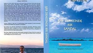 Hemşehrimiz Şair Yazar Ahmet Sandal Kitap Fuarına Son 2 Kitabıyla Geliyor