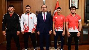 Turnuvaya Kahramanmaraş Damga Vurdu
