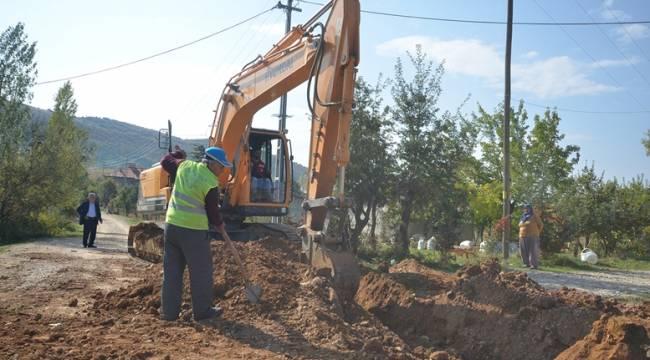 Göksun Yeniyapan'da İçme Suyu Çalışmaları Tamamlandı