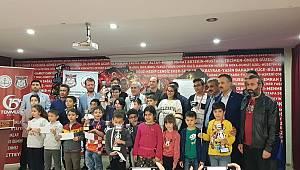 Rektör Can, 24 Kasım Öğretmen Günü Satranç Turnuvası Ödül Törenine Katıldı
