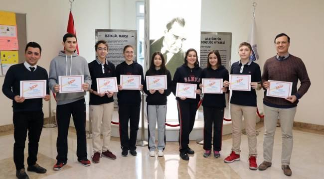 SANKO Okulları Anlık Görev Şenliği'nden Ödülle Döndü