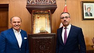 Topbaş'tan Başkan Güngör'e Hayırlı Olsun Ziyareti