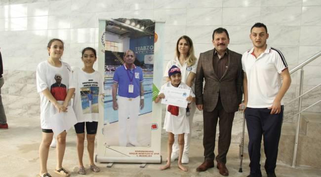 3 Aralık Dünya Engelliler Günü Yüzme Yarışları Yapıldı