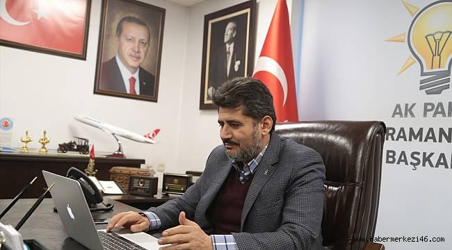 AK Parti Kahramanmaraş İl Başkanı Ömer Oruç Bilal Debgici, oylamaya katıldı