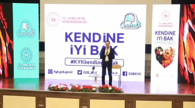 """Dr. Ender Saraç Gençlere """"Kendine İyi Bak"""" .."""
