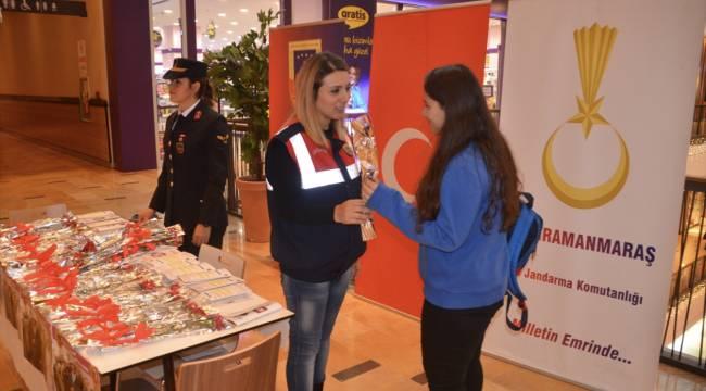 Kahramanmaraş'ta jandarmadan 5 Aralık Dünya Kadın Hakları Günü etkinliği