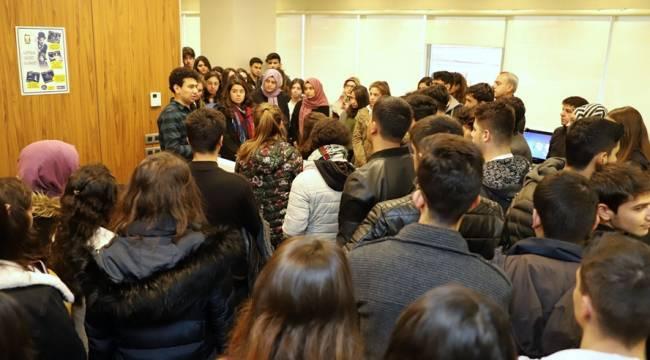 Öğrencilerden SANKO Üniversitesine Ziyaret