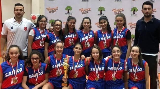 SANKO Okulları Kurtuluş Kupası Basketbol Şampiyonu