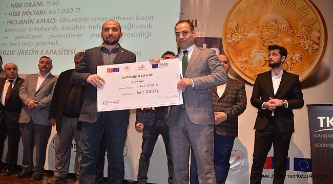 100. yılda 100 projeye 100 milyon lira destek